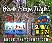 Park Slope Night at the Brooklyn Cyclones