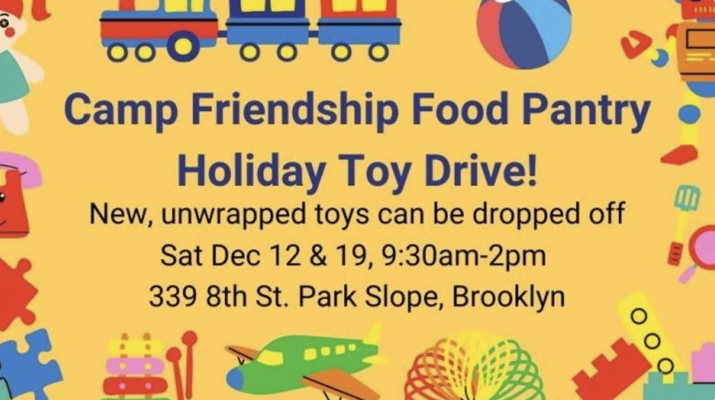 camp friendship toy drive