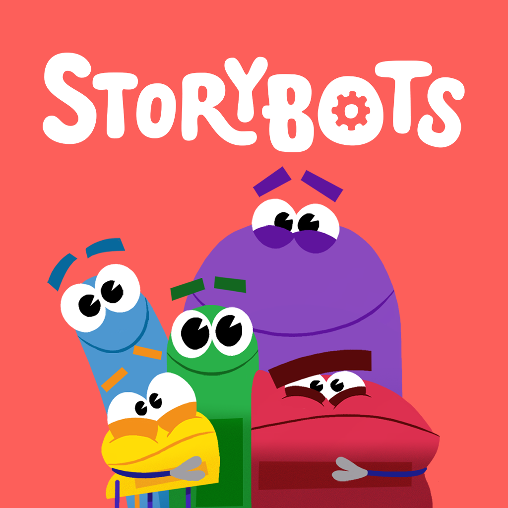 storybots square logo and characters1